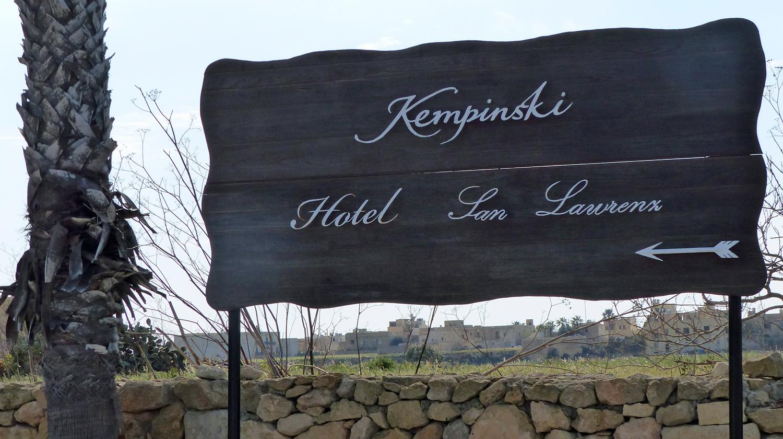 Alles GOZO ++ Hotel Kempinski